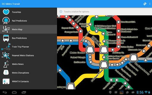 DC Metro Transit Info - Free screenshot 12
