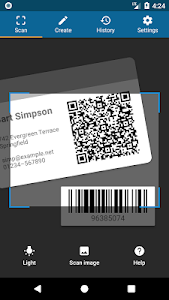QRbot: QR code reader and barcode reader 1 2 1 b76 (Unlocked