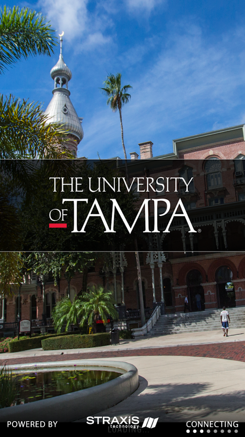 University of Tampa- screenshot