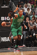 Photo: BROOKLYN, NY - DECEMBER 25: Jared Sullinger #7 of the Boston Celtics celebrates during the game against the Brooklyn Nets on December 25, 2012 at the Barclays Center in Brooklyn, New York. NOTE TO USER: User expressly acknowledges and agrees that, by downloading and or using this photograph, User is consenting to the terms and conditions of the Getty Images License Agreement. Mandatory Copyright Notice: Copyright 2012 NBAE (Photo by Ray Amati/NBAE via Getty Images)