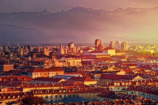 Prime luci su Torino di Steo