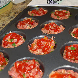 Mini Meatloaf Muffin