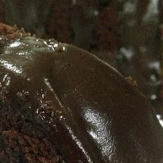 Deep Chocolate Sour Cream Pound Cake.