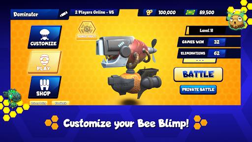 Code Triche Battle Bees Royale APK MOD screenshots 2