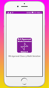 RS Aggarwal Class 9 Math Solution - náhled