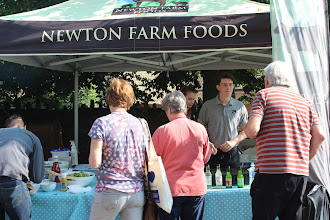 Photo: Newton Farm BBQ stall