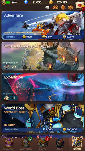 Hello Hero Epic Battle: 3D RPG  screenshots 8