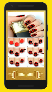 Step by Step Nail and Nail Polish Model(Detailed) - náhled