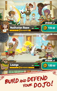 Kung Fu Clicker: Idle Dojo Mod Apk (Free Shopping + God Mode) 8