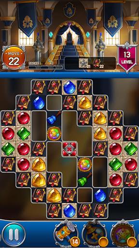 Jewel Royal Castle: Match3 puzzle apkpoly screenshots 6
