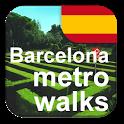 Barcelona Metro Walks - ES icon