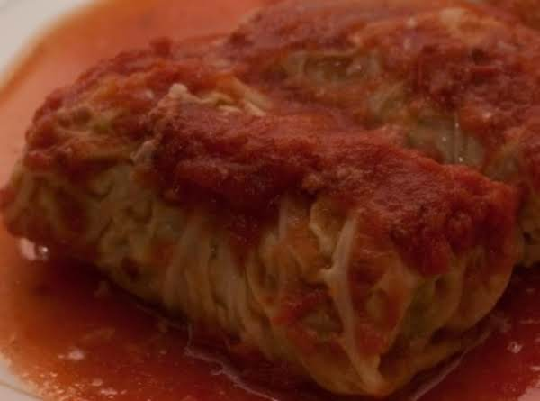 Stuffed Cabbage Rolls - Golabki Recipe
