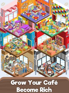 Idle Cafe Tycoon – My Own Clicker Tap Coffee Shop 5