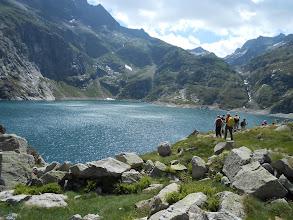 Photo: Lac de caillauas (2158m).