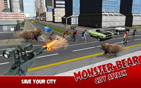 Monster Bear: City Attack v1.0