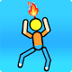 Stickman On Fire : Stickman Games Fun Physics Apk