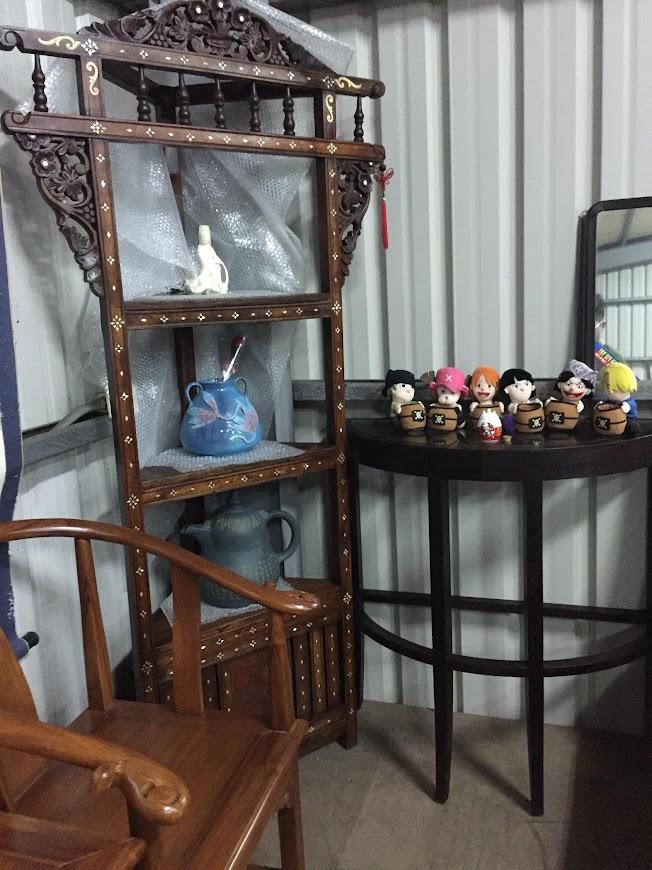 好朋友二手家具台北市二手實木置物架