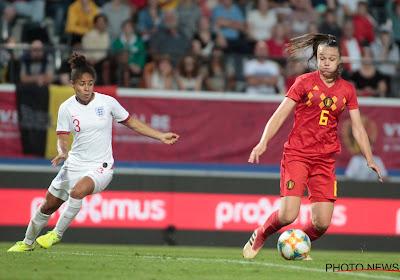 Coup dur pour les Red Flames, privée de leur meilleure buteuse contre la Roumanie