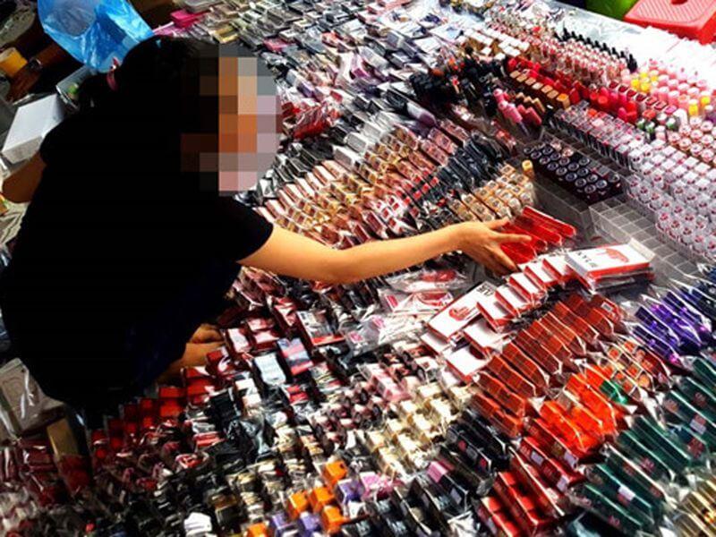 Sự xuất hiện tràn làn mỹ phẩm giả trên thị trường
