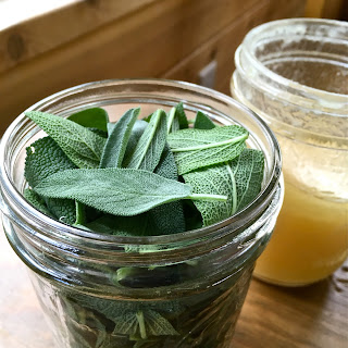 Sage and Honey Throat Syrup.