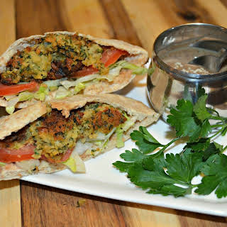 Fabulously Spicy Falafel - Chickpea Fritters.