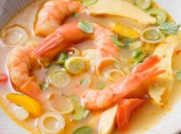 Hot And Sour Shrimp Soup (weight Watcher)