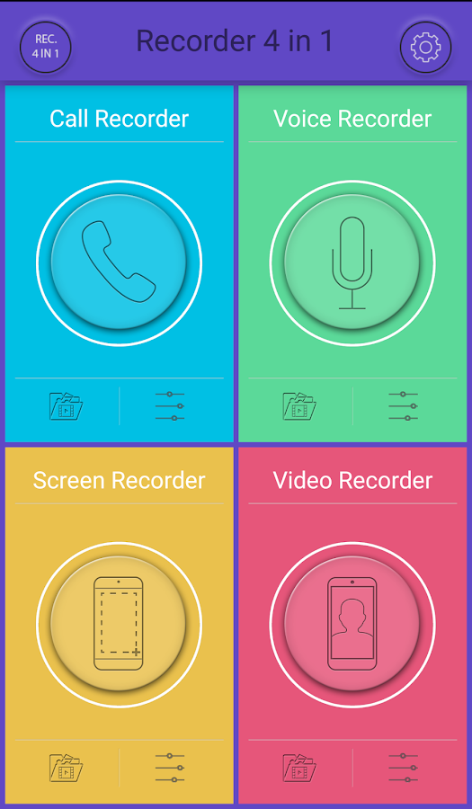 Recorder 4 in 1- screenshot