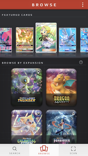 Pokémon TCG Card Dex