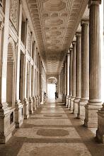 Photo: Cool column walkway in Rome