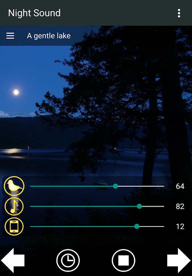 Nature Sounds of the night for comfortable sleep- screenshot