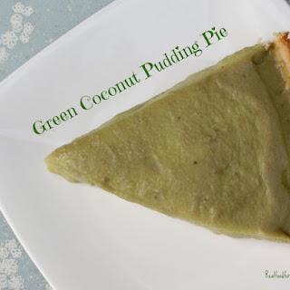 Green Coconut Pudding Pie (Paleo, GAPS, SCD)