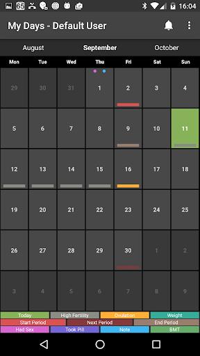 My Days  Period Ovulation screenshot 6