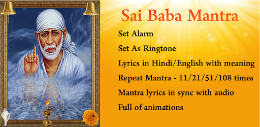 Sai Baba Mantra - Apps on Google Play