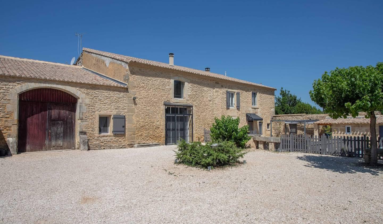 Maison avec piscine et jardin Castillon-du-Gard