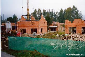 Photo: Tsjechië. Marina Lipno. Park in opbouw.