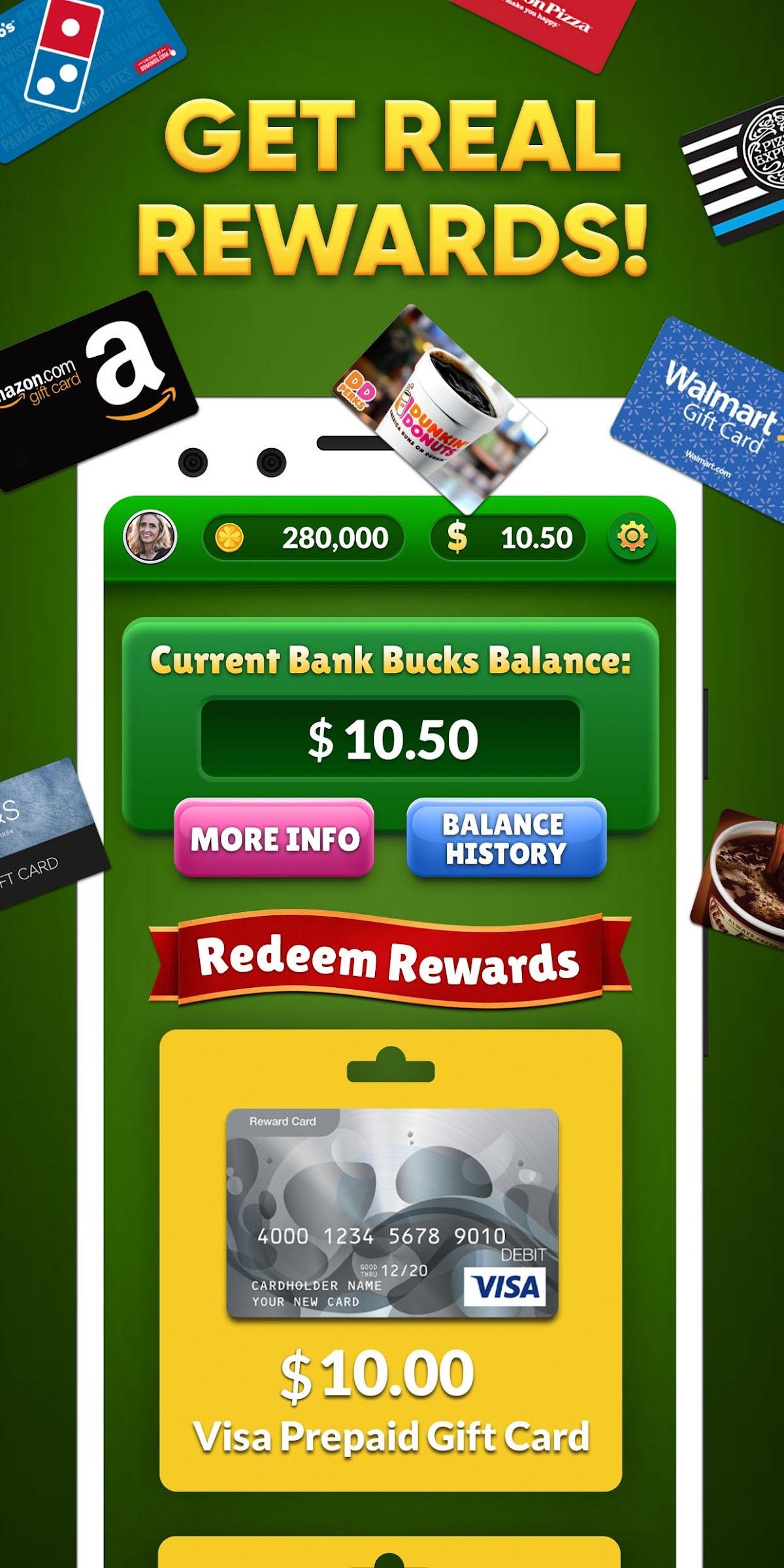 Lucky Scratch WIN REAL MONEY- it\u0027s your LUCKY DAY