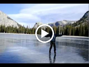 Video: There was a stiff breeze that day and you could get pushed along the ice by just facing away from the wind and extending your arms
