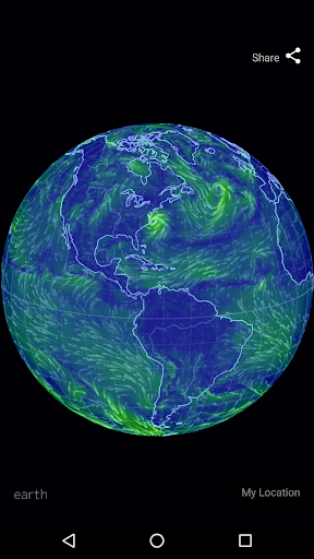 Wind Map Hurricane Tracker