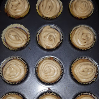 Spiced Banana Rum Cupcakes.