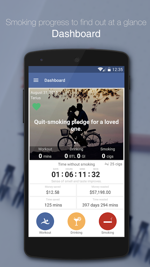 Smokenote Pro - Quit Smoking- screenshot
