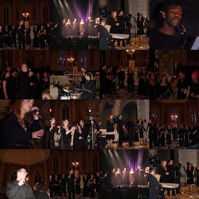 Fitiavana Gospel Choir en concert ! Collage