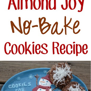 Almond Joy No-Bake Cookies