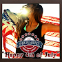 Happy 4th of July Wishes Card APK icon