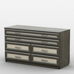 Комод АКМ-74/1 разработан и произведен Фабрикой Тиса мебель