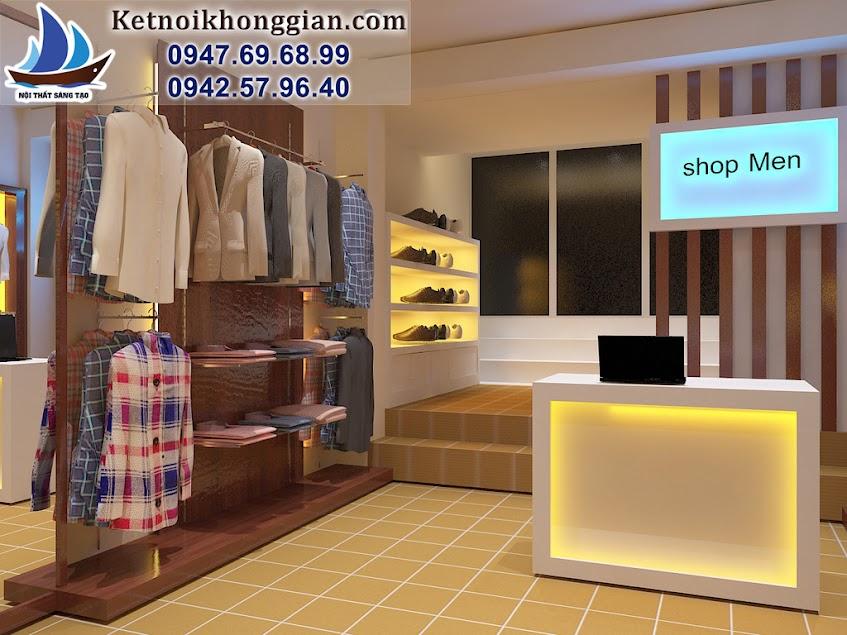 thiết kế cửa hàng thời trang nhỏ tại hà nội