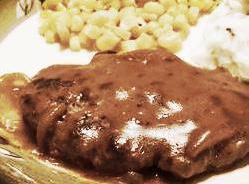 Stovetop Meatloaf (hamburgers & Gravy) Recipe