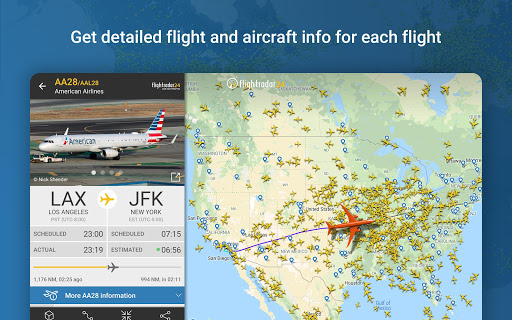 Flightradar24 Flight Tracker 8.9.0 screenshots 17
