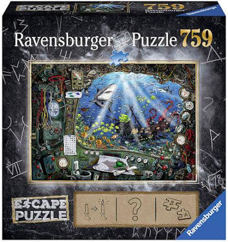 Puzzle EXIT 4: Submarine (759 pieces)