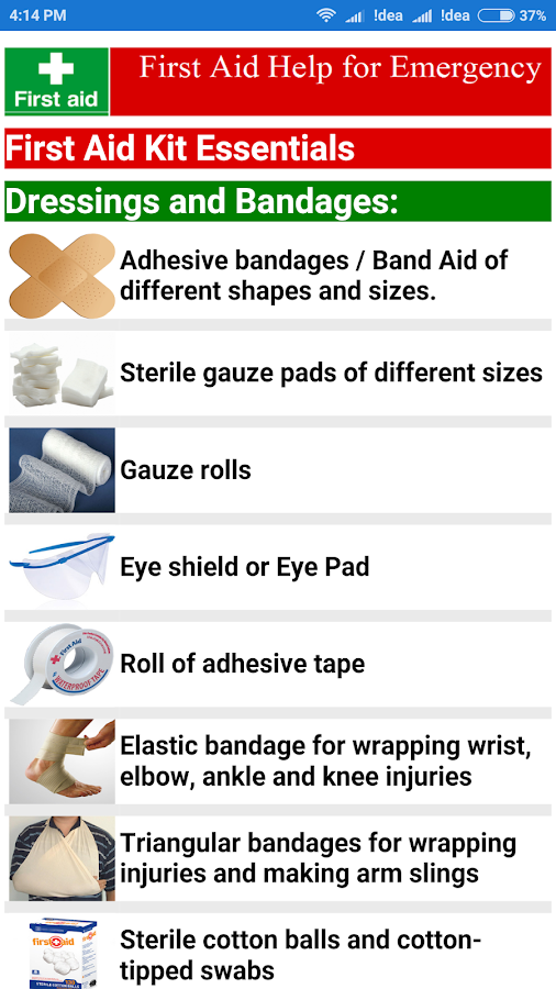 First Aid Basic Guide