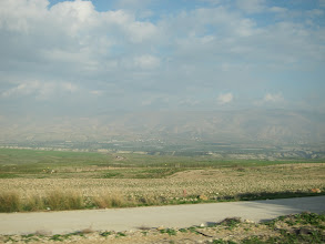 Photo: Fortified border with Jordan